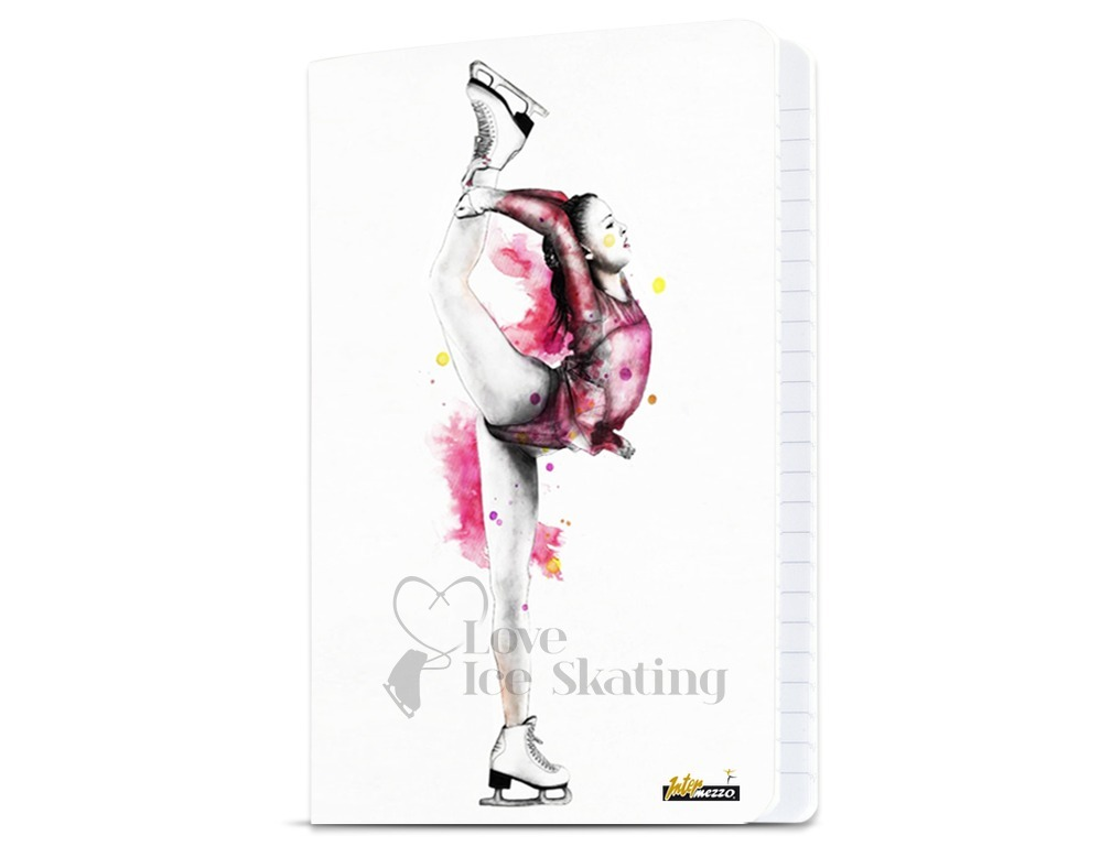 Intermezzo Biellmann A4 Notebook - Love Ice Skating
