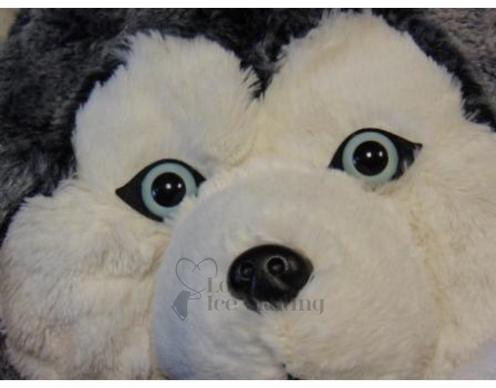 Husky Plush Hand Warmer By Cozy Time Love Ice Skating