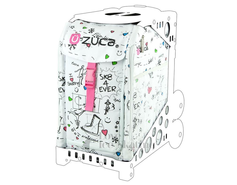Zuca Bags Frames Seats Gt Zuca Bag Sk8 Insert Love Ice