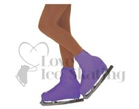 Chloe Noel Boot Covers Adult PURPLE