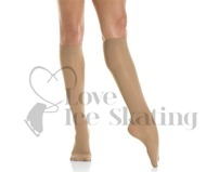 Mondor Knee High MI-BAS Figure Skating Socks Suntan 82