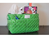 Kiss & Cry Angels Tote Bag Bubbly Lime Green