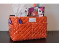 Kiss & Cry Angels Tote Bag Bubbly Orange