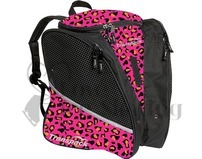 Transpack Ice Skating Bag Leopard Pink/Orange