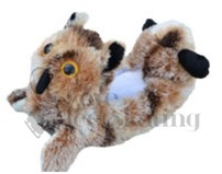 Owl Animal Soakers soft blade Blankies by Chloe Noel