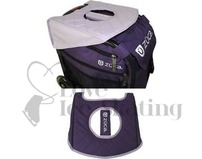 Zuca Seat Cushion Cushion Reversible Purple/Lilac