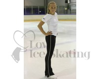 Figure Ice Skating Zip Up Leggings