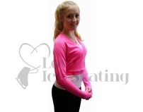 JIV Figure Skating Wrap - Pink