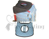 Zuca Seat Cushion Reversible Grey / Gloss Blue