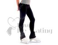 Sagester 402/SW91 Figure Skating Leggings with Swarovski AB Crystals