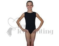 Chloe Noel Leotard GL212 Black with Contrast Binding in Black