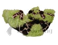 Fuzzy Soakers Lime Giraffe - GF08