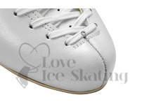 Edea Ice Skate Laces White with Swarovski Crystal 260cm
