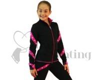 Ice Skating Jacket J36 with Swarovski Crystals plus leggings