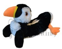 Chloe Noel Puffin Ice Skate Blade Covers