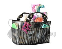 Kiss & Cry Angels Rink Tote Ice Skate Bag Sassy Graphite Zebra