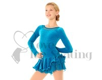 Mondor 2914 Fantasy on Ice Glitter Ice Skating Dress