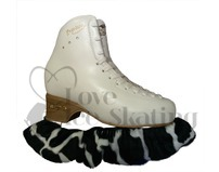 Cow Animal Print Ice Skate Soakers / Blade Covers
