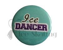 Ice Dancer on Teal badge