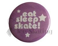 Eat Sleep Skate badge