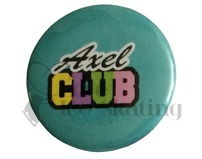 Axel Club Teal Badge