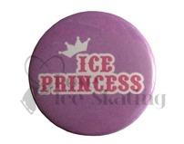 Ice Princess badge Purple and Pink