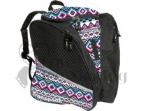 Transpack Figure Skating Bag White, Pink & Aqua Aztec