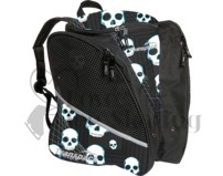 Transpack Figure Skating Bag Blue Skull