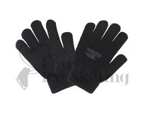 Edea Black Skating Gloves with I touch