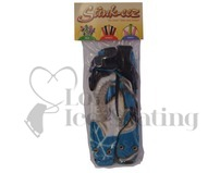 Stinkeez Ice Skate Lavender Boot Deodoriser Blue with Skates