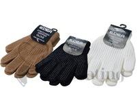 Edea White Ice Skating Grip Gloves
