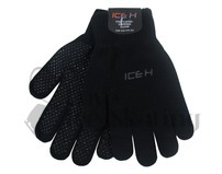 Black Ice Skating Ice H Gripping Gloves