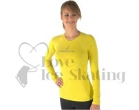 Sagester 041 In & Out Ice Skating Training Top Cedar Yellow