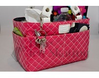 Kiss & Cry Angels Tote Bag Bubbly Crimson Pink