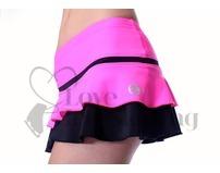 Thuono Hello Thermal Neon Pink Ice Skating Skirt