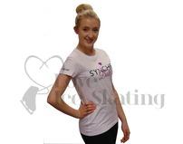 White Synchro Doll Glitter T-Shirt