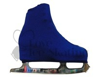 Navy Blue Figure skating Boot Covers Youth