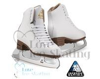 Jackson Mystique Ladies White Figure Skates