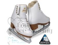 Jackson 2190 Freestyle  White Figure Skates
