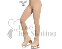 2 Pack Over the Boot Ice Skating Tights Mondor 902 Caramel