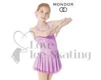 Mondor Fantasy on Ice 12916 Lilac Lace Figure Skating Dress