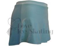 Velvet A Line Ice Skating Skirt Light Blue