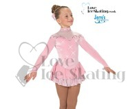 Pink Ice Skating Dress By Jerry's Prima Palace 160