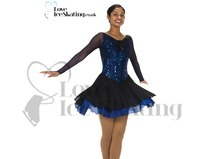 Ice Dance Skating Dress Jerry's 264 Royal Whirl