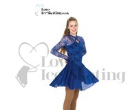 Blue Ice Dance Dress by Jerry's 253 Yacht Club