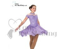 Ice Dance Skating Dress Jerry's 256 Lyrical Lilac