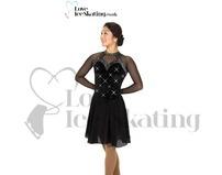 Black Ice Dance Skating Dress After Dark Jerry's 257