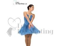Blue & Gold Dance Skating Dress Jerry's 270 Ballet