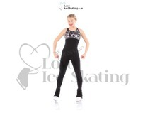 Jerry's XS1608 Xpression SK8 Catsuit Black w White