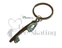 Ice Skate Blade Keyring Bag Charm Jerry's 1201